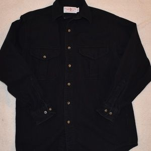 Vtg. Mens C.C. Filson Cotton Work shirt Sz MED